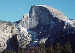 Halfdome, Yosemite Copyright © photograph By Gene Rose Special to The Fresno Bee Copyright © 1997 The Fresno Bee